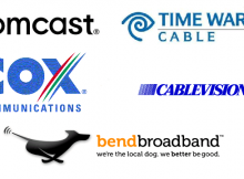 Comcast Cox Time Warner Cablevision