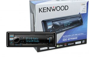 Kenwood KDC-BT958HD and the SiriusXM SXV200 Connect