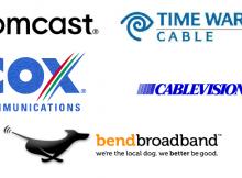 Comcast Cox Time Warner Cablevision